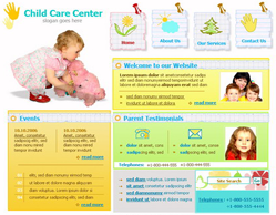 Free Child Care Templates